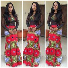 African Print Maxi Skirt https://www.etsy.com/listing/197104175/african-print-maxine-blazer-detaches-at