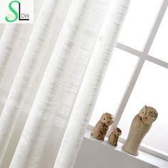 Cheap curtains for, Buy Quality tulle curtains directly from China curtains for living room Suppliers: White Cotton Texture American Country Style Decorative Cloth Curtain French Tulle Curtains For Living Room Cortinas Sheer Tulle
