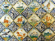 Portuguese tiles with animals - Pesquisa Google