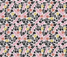 jungle fabric by kristinnohe on Spoonflower - custom fabric