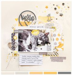 #papercraft #Scrapbook #layout     Welcome, September!
