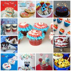 4th of July Treats Roundup - What are you making this 4th of July?