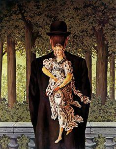 René Magritte - Ready Made Bouquet