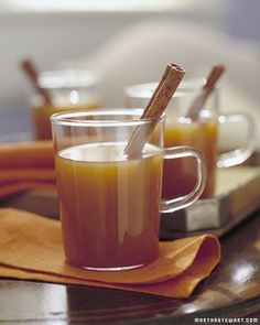 Apple-Pie Spiced Cider - Martha Stewart Recipes