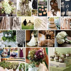 Beautiful Purple and Green Fall Theme...PERFECT