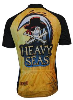 c9360d02c Back View of our Heavy Seas Beer Cycling Jersey at CycleGarb.com and MORE beer  jerseys. A great gift and FREE shipping in the US