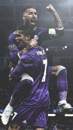 Ronaldo & Sergio Ramos / Real Madrid