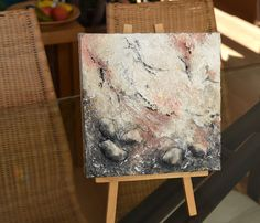 Black white and in between I  abstract mixed by SunrayArtshop
