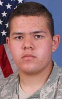 Army Pvt. Joseph F. Gonzales  Died September 20, 2008 Serving During Operation Enduring Freedom  18, of Tucson, Ariz.; assigned to the 1st Battalion, 26th Infantry Regiment, 3rd Brigade Combat Team, 1st Infantry Division, Fort Hood, Texas; died Sept. 20 in the Korengal Valley, Afghanistan, of wounds sustained when his vehicle encountered an improvised explosive device.