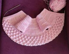 Baby Knitting Patterns, Free Knitting, Crochet Baby, Knit Crochet, Ball Gowns Evening, Crochet Doll Clothes, Baby Vest, Vest Pattern, Crochet Doll Pattern