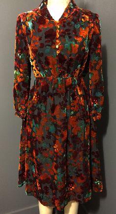 Devoré Velvet Dress