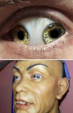 "Liu Ch'ung was a Chinese emperor that was featured in a episode of ""Ripley's Believe it or Not!"" because he had two irises/pupils in each of his eyeballs.It's basically a condition that is called ""pupula duplex"" — which means in Latin: ""double pupil""."