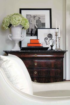 Five Ways to Hang Art Above a Console Table.