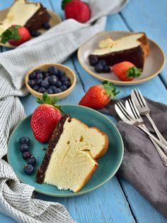 Pradobroty: Nadýchaný tvarohový koláč