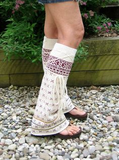 Tribal Flair' Leg Warmers Hippie Clothing Boho by MyMetamorphous, $32.00