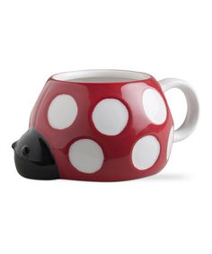 This Ladybug Mug - Set of Two by tag is perfect! #zulilyfinds