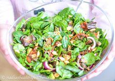 In elk geval, in het kader van groen heb ik vandaag een spinaziesalade met gegrilde aubergine gemaakt. Simpel en smaakvol door Low Carb Recipes, Healthy Recipes, Healthy Food, Lunches, Sprouts, Diet, Vegetables, Salads, Low Carb