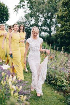If you're thinking of selecting yellow bridesmaid dresses, we're definitely here for it. Wedding Yellow bridesmaid Of course, the brightest neon Scroll through for 15 yellow bridesmaid dresses you and your bridesmaids are sure to love. Mustard Bridesmaid Dresses, Yellow Bridesmaid Dresses, Bridal Wedding Dresses, Bridal Lace, Wedding Bridesmaids, Hermione, Summer Wedding, Wedding Yellow, Dream Wedding