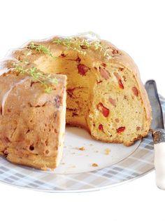 Κέικ με πάριζα, γραβιέρα Κρήτης και κόκκινη πιπεριά #κέικ #πάριζα Savoury Cake, Savoury Pies, Pastry Art, Baking Cupcakes, Amazing Cakes, Camembert Cheese, Tart, Brunch, Food And Drink