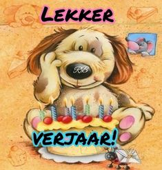 Birthday Wishes Funny, Birthday Quotes, Birthday Greetings, Birthday Cards, Happy Birthday, Afrikaanse Quotes, Happy New Year Images, Erika, Birthdays