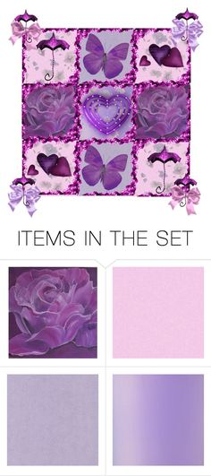 """""""Have A Purple-Lucius Birthday Jeanierose/ Hearts And Roses Contest"""" by m-aviles-ma ❤ liked on Polyvore featuring art"""