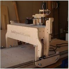 This CNC appliance offers 3 axis functionality determined by roller chain and sprocket for the x and y axis and lead rotate for the z-axis
