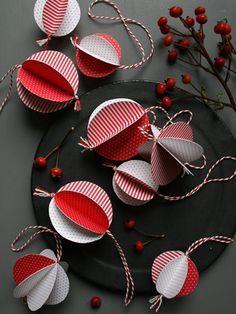 diy: christmas tree balls...