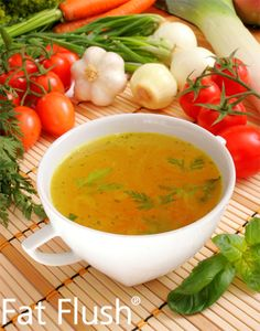 1-2-3 Vegetable Broth: Official Fat Flush Recipe