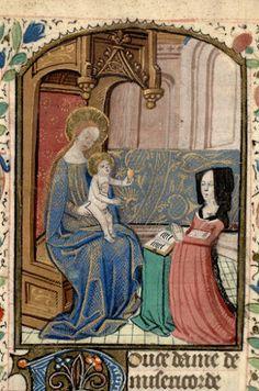 Paris, Bibl. Mazarine, ms. Faralicq 04 Heures à l'usage de Rouen / vers 1480