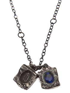 Henson Carved Cube Necklace - Odd. - Farfetch.com