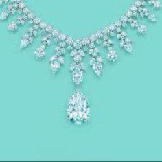 TF diamond necklace