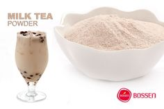 Milk Tea powder for the Bubble Milk Tea lover. Serve with boba. Great for home, parties, and special events.