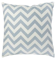 Greendale Home Fashions Toss Zig Zag Pillows in Village Blue (Set of 2)