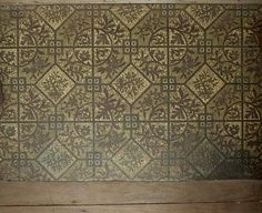 Victorian printed linoleum used as a bedroom carpet surround Restaurant Ideas, Bedroom Carpet, Museum Collection, Period, Victorian, Rooms, Printed, Antiques, Image