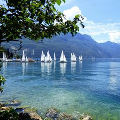 Riva del Garda - vele bianche, acqua cristallina, montagne...