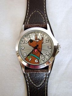 d27375881dc4  20.98 - Unisex SCOOBY DOO Hanna Barbera Armitron WATCH Brown Wristband  Stainless Steel - (Ebay