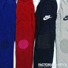 "0 Me gusta, 1 comentarios - FACTORIAdelRÈTOL Manresa (@factoriadelretol) en Instagram: ""Genolleres de vinil a mida!! #estampaciotextil #vinil #pantalons #manresa #factoriadelretol"" Sweatpants, Instagram, Fashion, Moda, La Mode, Sweat Pants, Fasion, Jumpsuits, Fashion Models"