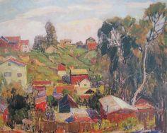 Paul Lauritz.(1889-1975). California Impressionism