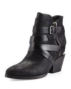 Manhattan+Strappy+Leather+Bootie+by+Ash+at+Neiman+Marcus.