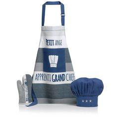 Lot Compose Petit Ange indigo 52 x 63 cm Winkler . Kids, Toque, Aprons, Motifs, Products, Bassoon, Kitchen Linens Sets, Apron, Linens