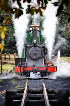 Puffing Billy steam locomotive takes tourists through Melbourne, Australia's Dandenong Ranges several times a day.