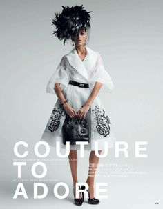 photography by Patrick Demarchelier for the May issue of Vogue Japan.