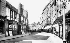 Photo of Banbury, High Street 1921 from Francis Frith Old Town, Jessie, Old Photos, Photo S, England, Street View, In This Moment, London, History