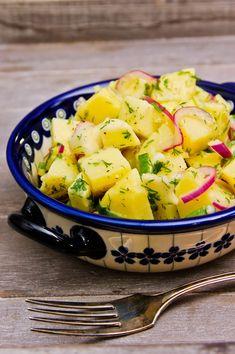 Muista syödä välillä: Kirkas perunasalaatti Koti, Potato Salad, Food And Drink, Potatoes, Ethnic Recipes, Potato