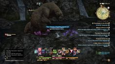 [Ps4]Final Fantasy XIV Havensward(Warrior)(The Bear Necessity)