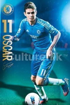 Chelsea FC Oscar dos Santos Emboaba 2012-2013 Poster Print (36 X 24) - Item # IMPST5559R - Posterazzi