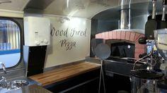Citroen HY wood fired pizza truck.