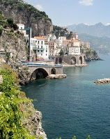 Naples Italy, Another pinned: never forget the fragrance of lemon in the air along the Amalfi coast Places Around The World, Oh The Places You'll Go, Great Places, Places To Travel, Beautiful Places, Places To Visit, Amazing Places, Beautiful Ruins, Vacation Destinations