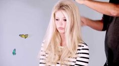 HOW TO: Bridgette bardot volume hair (michelle keegan style when she wears turtleneck, jeans & dolly shoes - pinned in fashion- wear this hairstyle with that outfit)