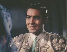 """1941 Tyrone Power in """"Blood and Sand. Kid Movies, Great Movies, Classic Hollywood, Old Hollywood, Cary Grant Randolph Scott, Valentino Tango, Norma Shearer, Tyrone Power, Star Wars"""